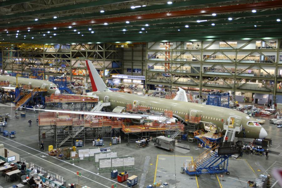 Boeing 787 Dreamliner. Fot. Bloomberg
