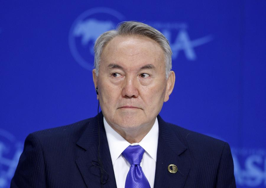 Nursułtan Nazarbajew, prezydent Kazachstanu