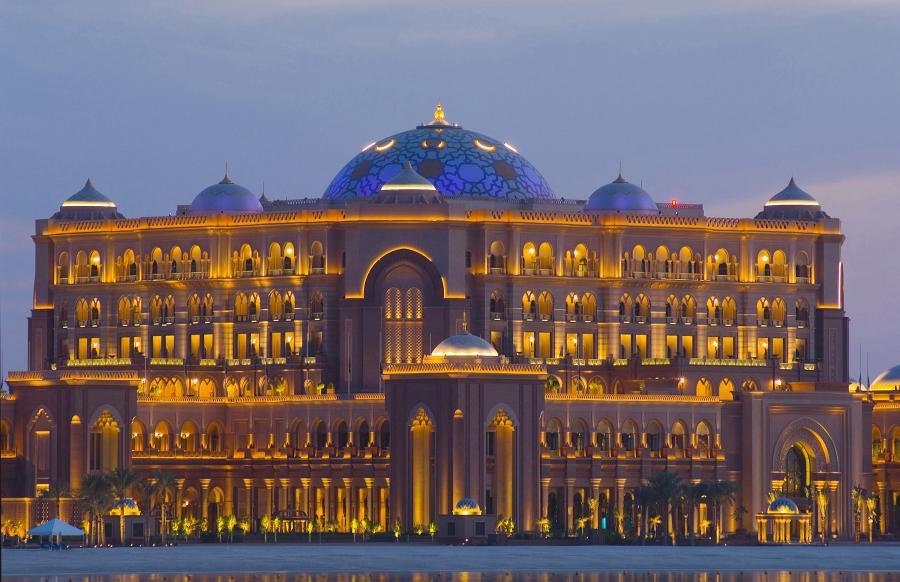Pałac emira  w Abu Dhabi
