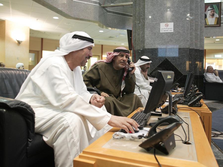 Warszawska giełda traci przez problemy finansowe arabskich inwestorów