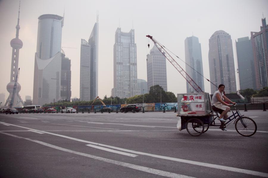 Pudong - centrum finansowe Szanghaju