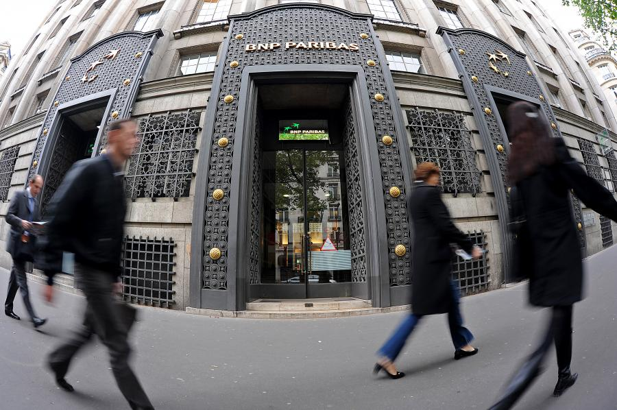 Oddział banku BNP Paribas