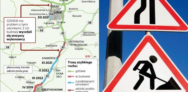 Problemy z budową dróg w Polsce
