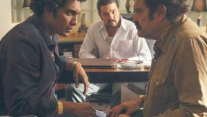Diego Luna (w środku) jako Félix Gallardo, król meksykańskiego narkobiznesu fot. Carlos Somonte/Netflix(2)
