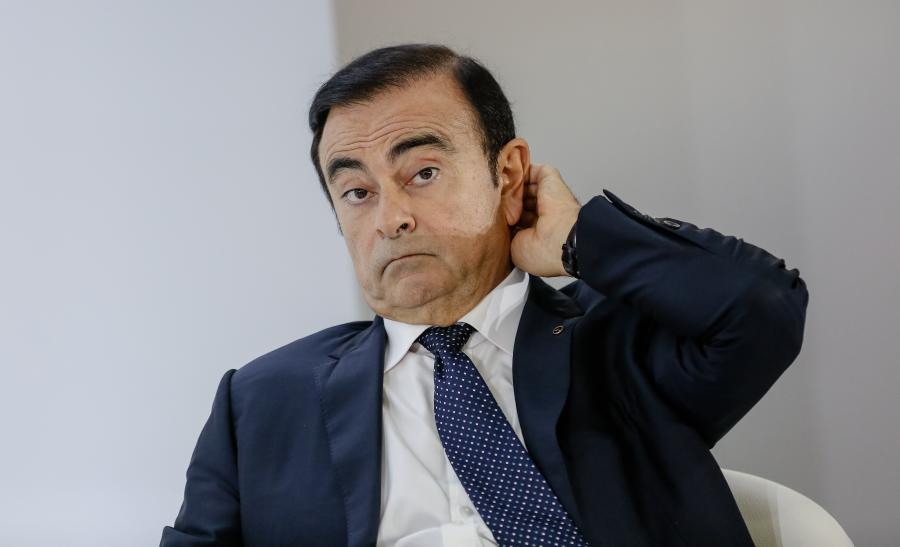 Carlos Ghosn, prezes Nissana