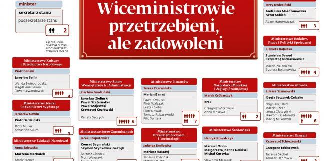 Wiceministrowie - karuzela stanowisk (1)