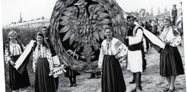 Święto winobrania w Zaleszczykach, 1938 r. fot. NAC