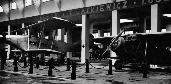 Międzynarodowa Wystawa Komunikacji i Turystyki w Poznaniu. Stoisko Zakładów Mechanicznych E. Plage i T. Laśkiewicz, 1930 r.