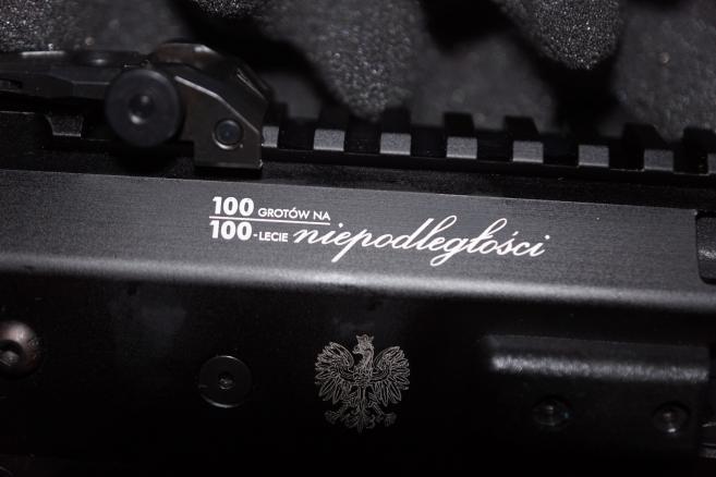 """MSBS GROT S16-M1 - źródło: Fabryka Broni """"Łucznik""""- Radom"""