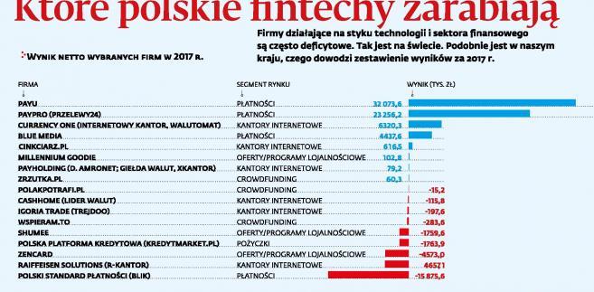Ktore polskie fintechy zarabiaja (c)(p)