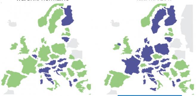 Zima w Europie