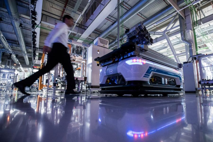 Fabryka Audi w Gyor na Węgrzech