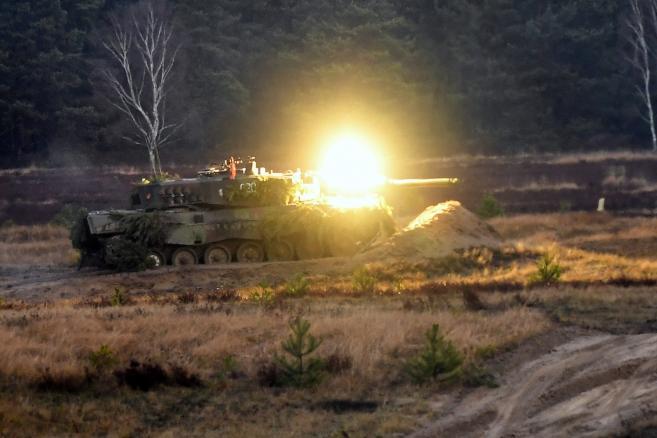 Jagerbruck: Polsko-niemieckie strzelanie bojowe