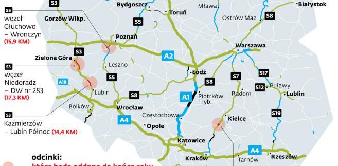Nowe drogi, którymi kierowcy pojadą w grudniu