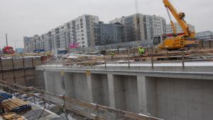 Budowa tunelu na Ursynowie, fot. Krzysztof Śmietana