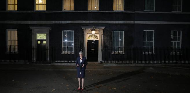 Theresa May wdaje oświadczenie po specjalnym spotkaniu rządu dotyczącym brexitu