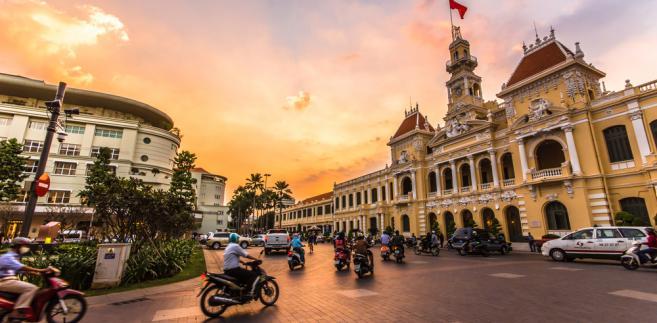 Ho Chi Minh (dawniej Sajgon), Wietnam. Zdj. Chansak Joe / Shutterstock.com