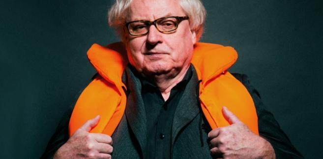 Ryszard Makowski - publicysta, satyrykw przeszłości związanym.in. z kabaretem OT.TO. Fot. Maksymilian Rigamonti