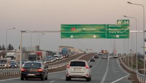 Trasa S8 pod Warszawą. Źródło: GDDKiA