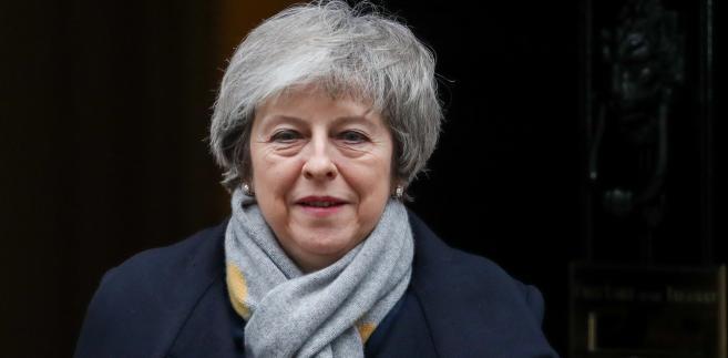 Theresa May, premier Wielkiej Brytanii, Londyn, 15.01.2019
