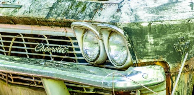 Zdezelowanych Chevrolet