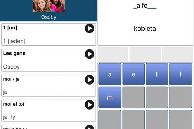 50 languages - aplikacja językowa