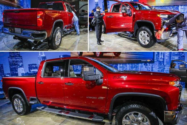 Chevrolet Silverado Z71 2500 pickup truck