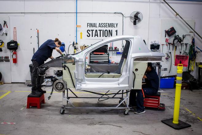Solo - pojazd elektryczny produkowany przez firmę Electra Meccanica Vehicles Corp. w Vancouver