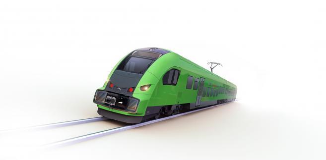 Pociąg Elf.eu dla czeskiego przewoźnika RegioJet. Źródło: materiały prasowe Pesy
