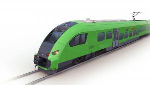 Pociąg Elf.eu dla RegioJet. Źródło: PESA