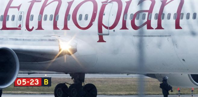 Samolot Ethiopian Airlines