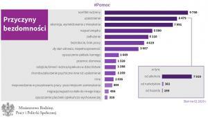 Przyczyny bezdomności w Polsce