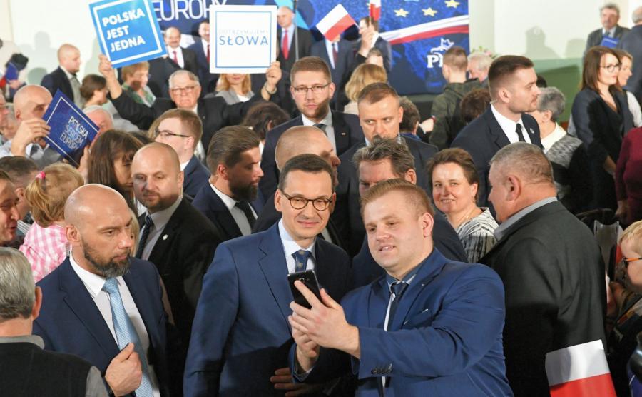 premier Mateusz Morawieck