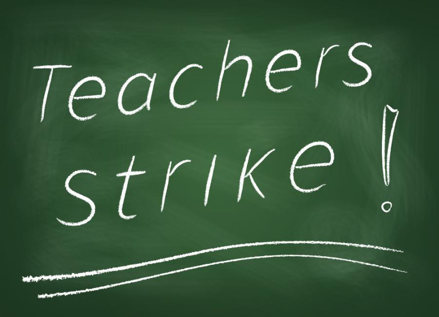 strajk nauczyciele szkoła
