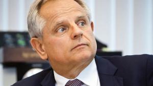 Krzysztof Kalicki, prezes Deutsche Bank Polska (przez ostatnie 16 lat, do końca kwietnia). Wykładowca uniwersytecki, autor ponad stu publikacji z dziedziny finansów i bankowości - fot. Wojtek Górski