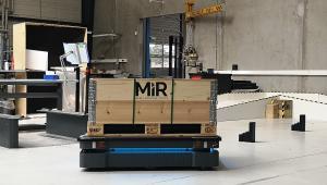 Autonomiczne roboty mobilne testowane w fabryce MiR