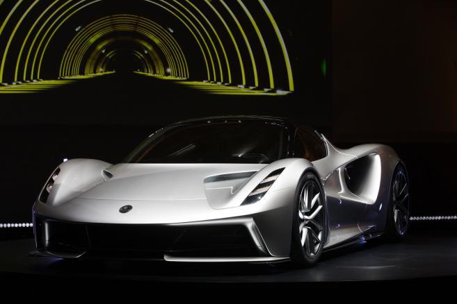 Lotus Evija Electric Supercar