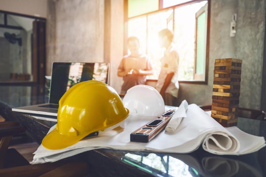 praca, budowa