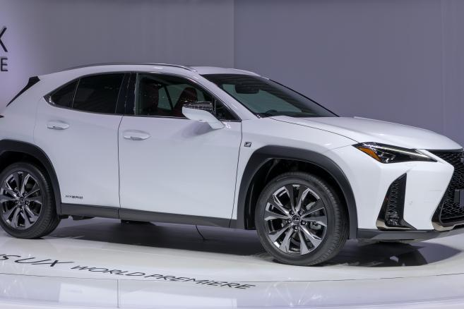 Lexus UX 250h at Geneva International Motor Show 2018 - fot. Matti Blume (CC BY-SA 4.0)