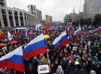 """Roskomnadzor wzywa Google'a do zakończnia """"reklamowania"""" protestów w Moskwie"""