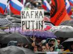 """""""Za wolność i sprawiedliwość"""". Około 60 tys. ludzi na demonstracji w Moskwie"""