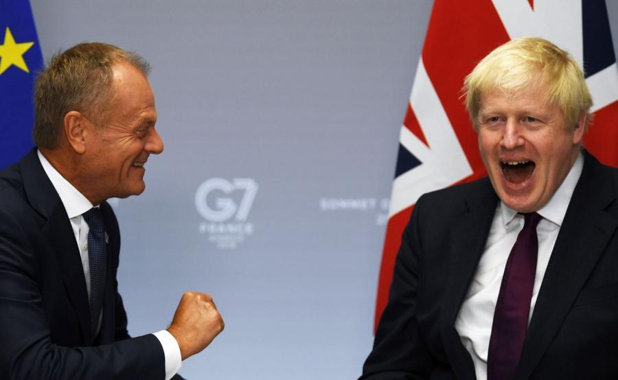 Boris Johnson i Donald Tusk