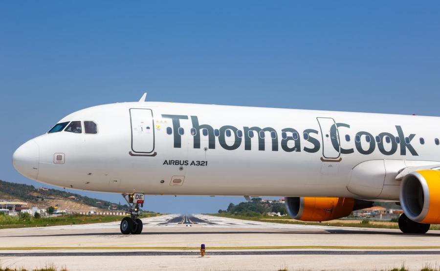 Samolot biura Thomas Cook