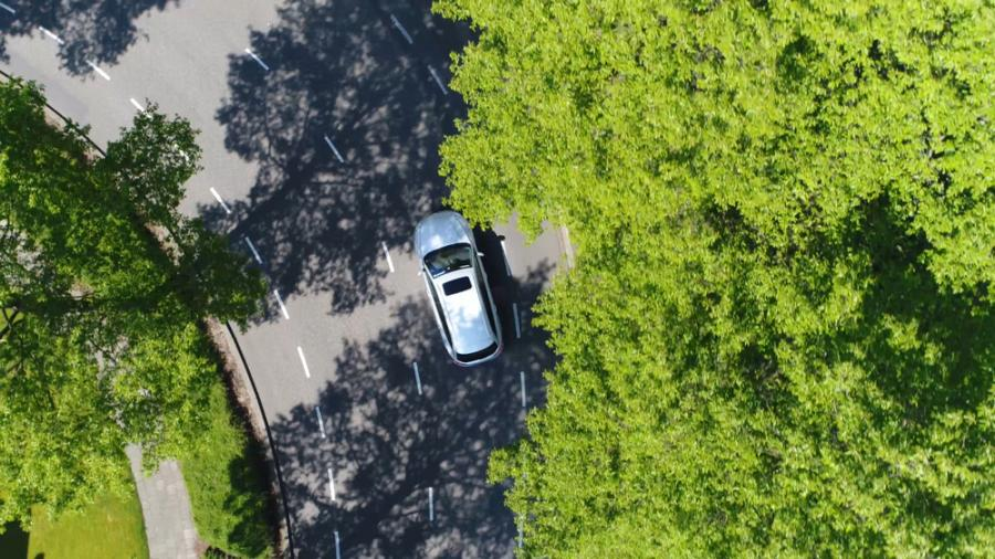 Samochód, droga, transport