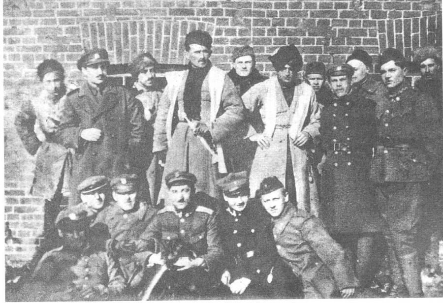 Generał Stanisław Bułak-Bałachowicz i jego ludzie - rok 1920 (Domena Publiczna)