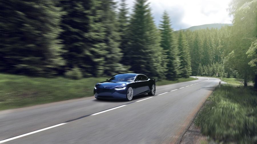 Fresco Motors, wizualizacja auta Reverie