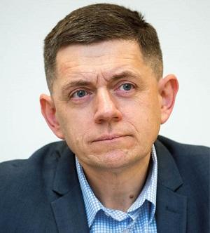 Grzegorz Poznaniak, szef platform danych klienta w Santander Bank Polska