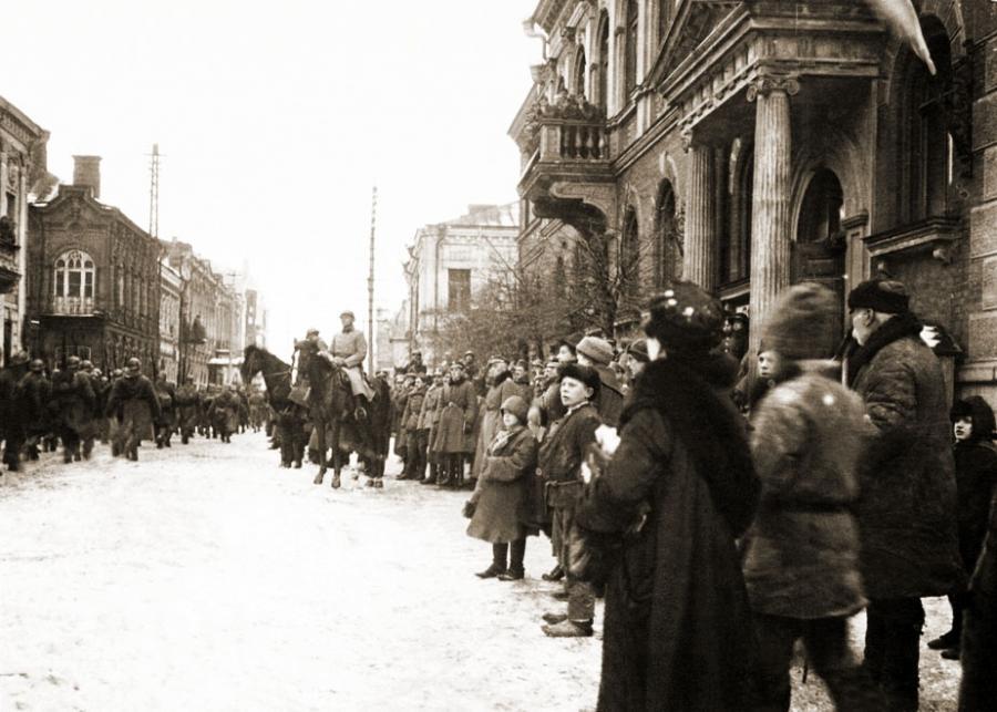 5 Pułk Legionów w Dyneburgu, 1920 r. źródło: Centralne Archiwum Wojskowe (Domena Publiczna)