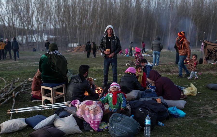 Uchodźcy na granicy grecko-tureckiej