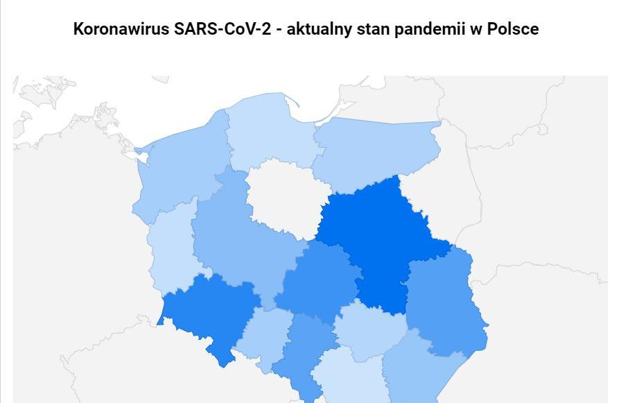 Koronawirus W Polsce Aktualna Mapa Zakazen Forsal Pl
